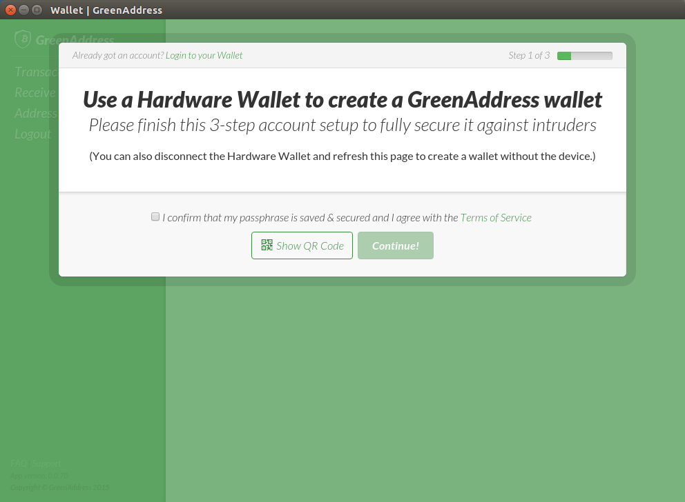 How to initialize your Trezor with GreenAddress services ...